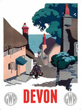 Devon Tin Sign