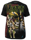 Misfits - Full-Color Evil Eye (slim fit) T-shirts
