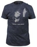 David Bowie - Heroes (slim fit) T-skjorte