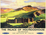 Holyroodhouse Tin Sign