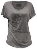 Juniors: Joy Division - Unknown Pleasures (dolman) T-Shirt