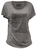 Women's: Joy Division - Unknown Pleasures (dolman) Maglietta