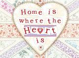 Home is Where the Heart Is Blikkskilt