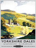 Yorkshire Dales Tin Sign