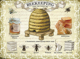 Beekeeping Tin Sign