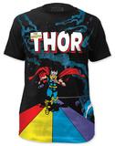 Thor - Rainbow Bridge (slim fit) T-shirts