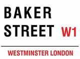Baker Street Plechová cedule