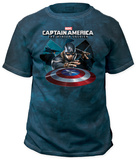 Captain America: The Winter Soldier - Shield Throw Shirts