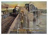British Railways Western Cartel de chapa