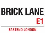 Brick Lane Tin Sign