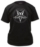 45 Grave - Black Cross T-Shirt