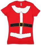 Juniors: Mrs. Claus Costume Tee Skjorte