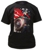 Captain America: The Winter Soldier - Patriotic T-shirts