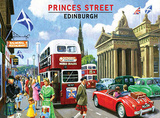 Princes Street Tin Sign by Kevin Walsh