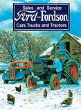 Ford & Fordson Sales & Service Tin Sign by Trevor Mitchell