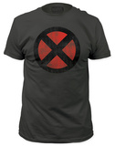 X-Men - Distressed X-Men Logo (slim fit) Shirts