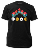 Devo - Whip It Heads (slim fit) Tshirts