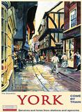 York Carteles metálicos