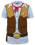 Cowboy Costume Tee (slim fit) T-shirts