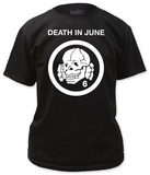Death In June - Totenkopf 6 Logo T-shirts