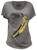 Juniors: Velvet Underground - Distressed Banana (dolman) Koszulki