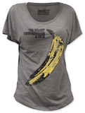 Juniors: Velvet Underground - Distressed Banana (dolman) Tshirt