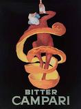 Bitter Campari Plaque en métal