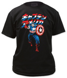 Captain America - Japanese Captain America Shirt