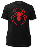 Spiderman - Red Logo (slim fit) T-shirts