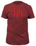 Daredevil - Logo (slim fit) Tシャツ