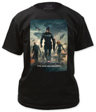 Captain America: The Winter Soldier - Poster Shirts