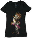 Juniors: Alice in Wonderland - Hatter T-Shirt