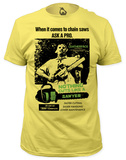 Texas Chainsaw Massacre - Cuts Like a Sawyer (slim fit) Tshirts