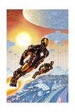 Iron Man 20 Cover: Iron Man Posters by Paul Rivoche