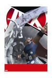 A+X 7 Cover: Thor, Iceman Print by RJohn Bernales