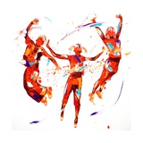 Exhuberence Giclee Print by Penny Warden