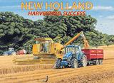 New Holland Harvesting Success Plakietka emaliowana autor Trevor Mitchell