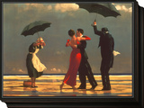 The Singing Butler Framed Print Mount by Jack Vettriano