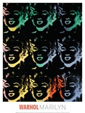 Marilyn, c. 1979-86 Reproduction procédé giclée par Andy Warhol