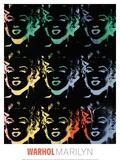 Marilyn, c. 1979-86 Giclée-Druck von Andy Warhol