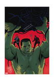 Indestructible Hulk 9 Cover: Hulk, Daredevil, Murdock, Matt Posters by Paola Rivera