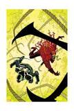 Venom 35 Cover: Toxin, Venom Print by Declan Shalvey