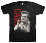 Johnny Cash - The Finger T-shirts