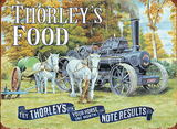 Thorley's Food - Steam Tin Sign by Trevor Mitchell