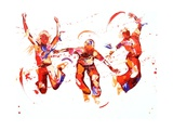 Jump Giclee Print by Penny Warden