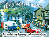 The English Lakes Tin Sign by Kevin Walsh
