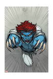Uncanny X-Men 13 Cover: Raze Prints by Ed McGuinness