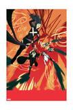 Uncanny X-Force 5 Cover: Psylocke, Storm, Cluster, Puck, Spiral Posters par Kris Anka