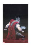 Thor: God of Thunder 7 Cover: Thor Affiches par Esad Ribic