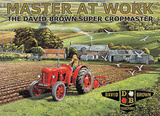 Master at Work Tin Sign by Trevor Mitchell